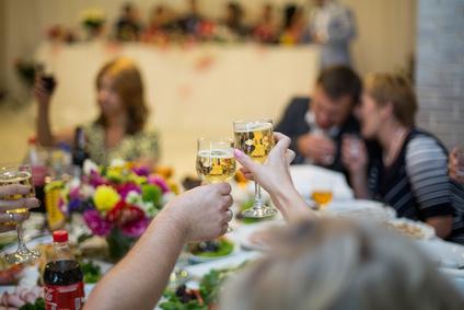 Feiern Buffet oder Menü